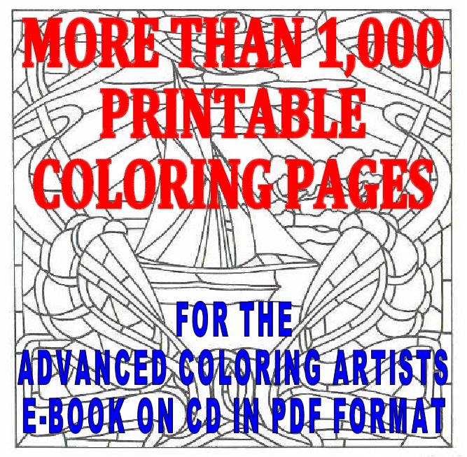 Geometric Mandala Coloring Pages